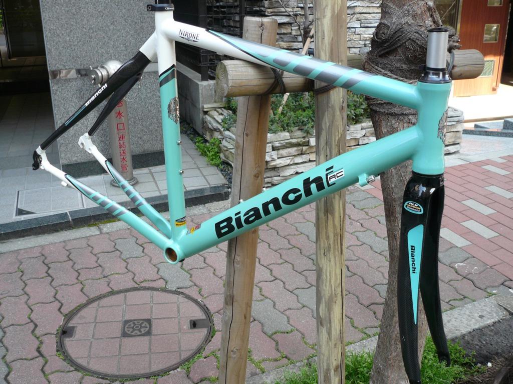 自転車の ビアンキ 自転車 中古 : Bianchi Via Nirone 7