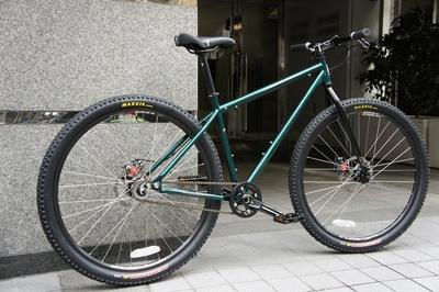 自転車の kona 自転車 中古 : KONA UNIT 29er サイズ18 クロモリ ...