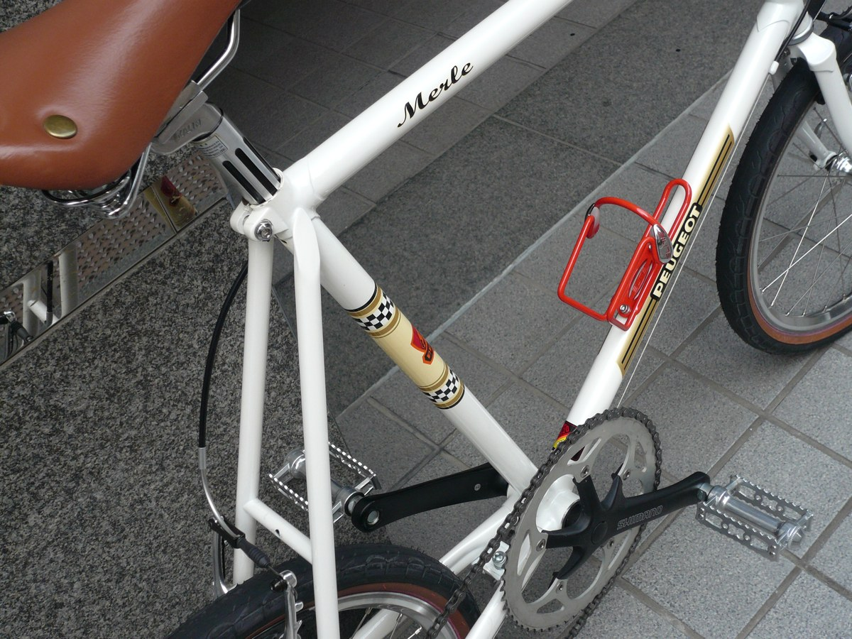 自転車の プジョー 自転車 修理 : Peugeot プジョー ミニベロ(改 ...