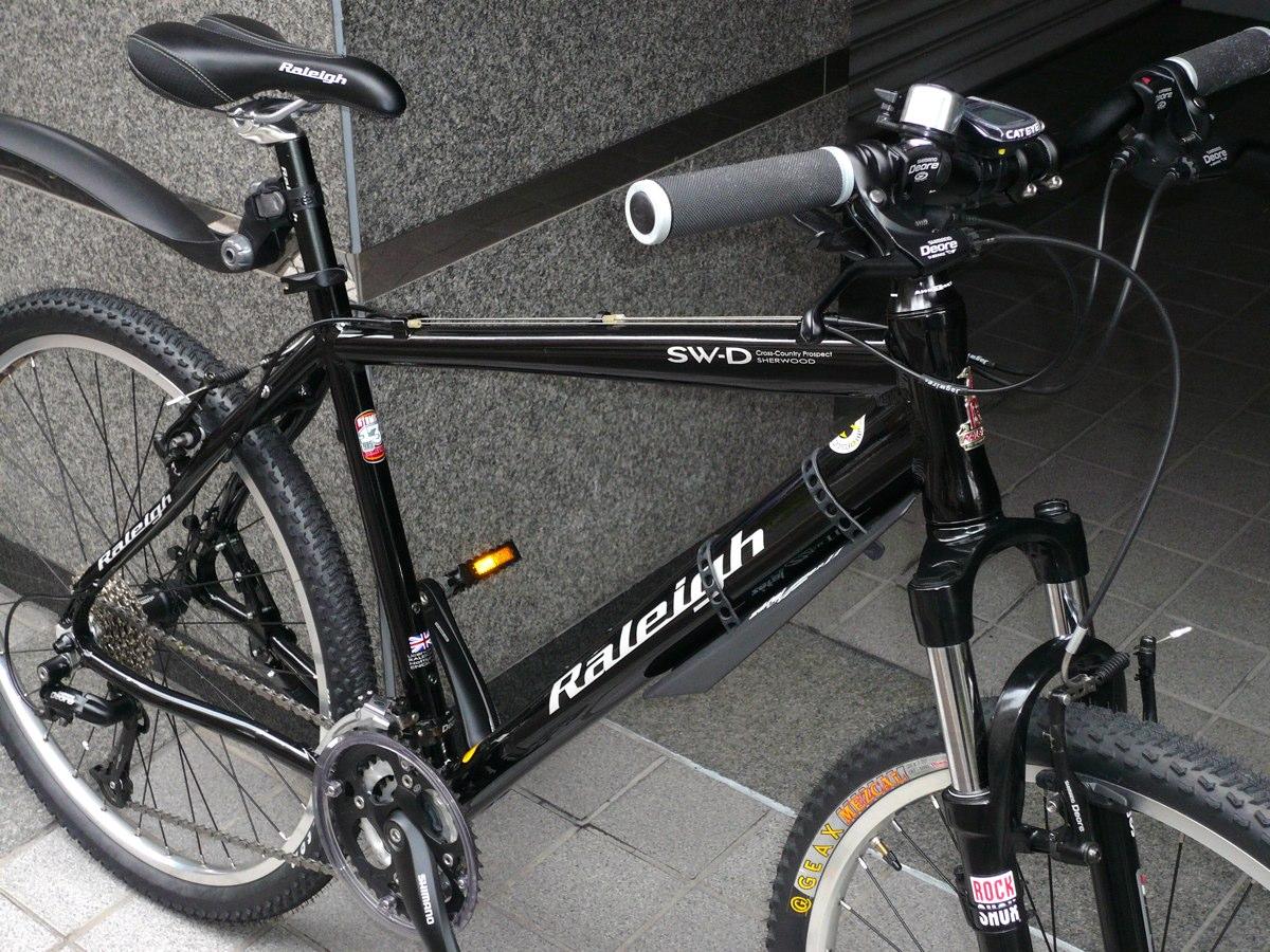 自転車の ラレー 自転車 ミニベロ : 使用頻度はもの凄く少ない美品 ...