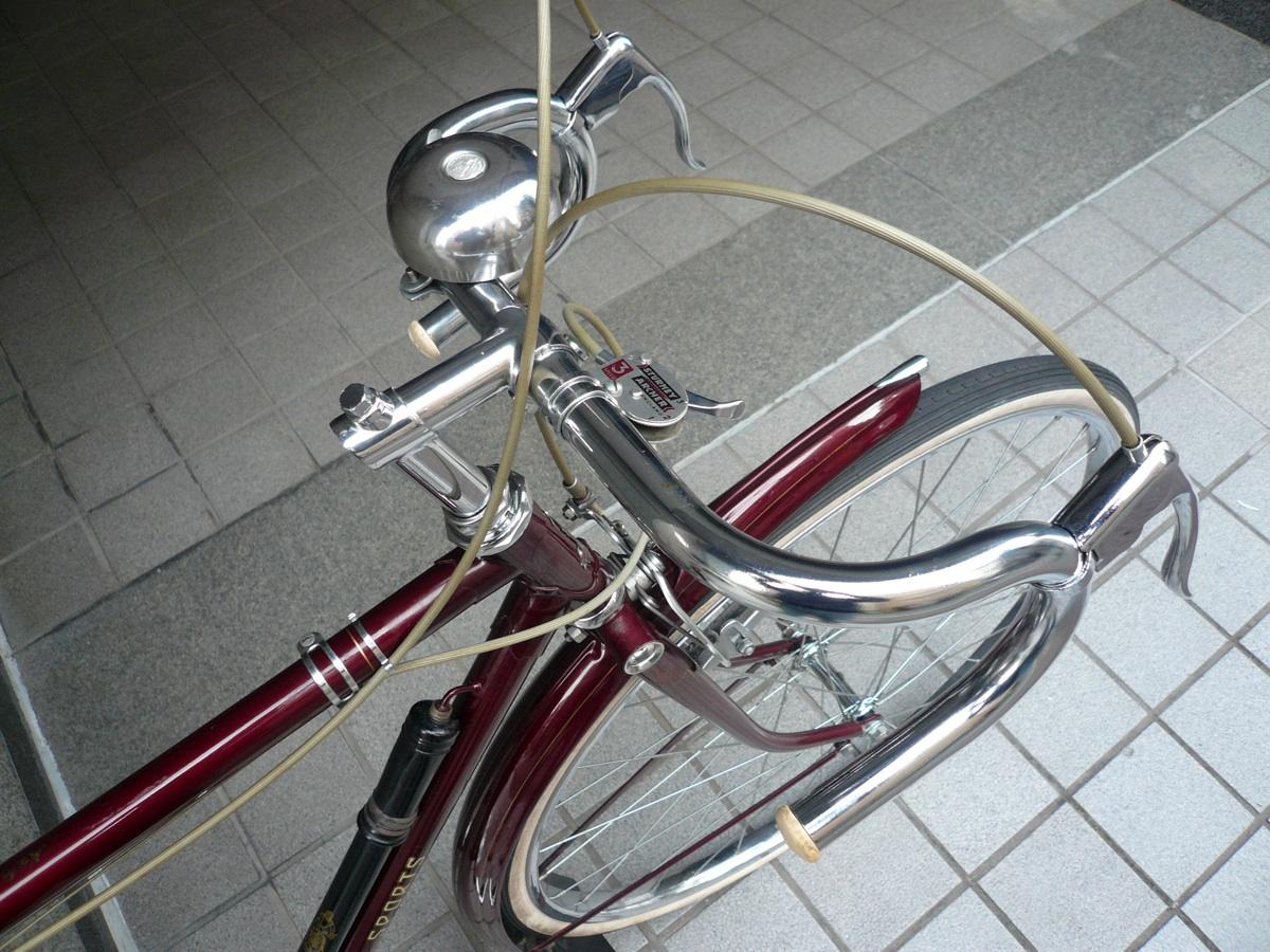 自転車の ラレー 自転車 ミニベロ : Raleigh Sports ラレー retro old vintage ...